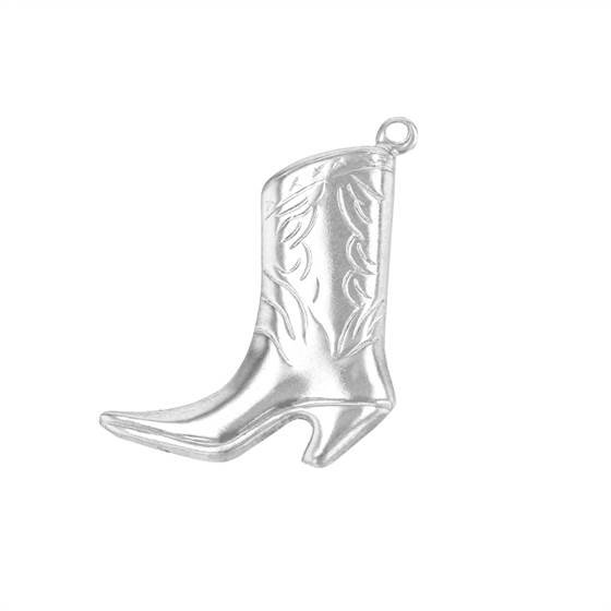 ss 19x15mm boot charm