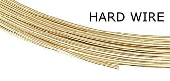 14K Yellow Gold Round Wire (Sold By Grams)