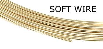 18K Yellow Gold Round Wire (Sold By Grams)