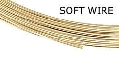 GOLD FILLED 28 GAUGE SOFT WIRE 0.3MM (0.012 INCHES)