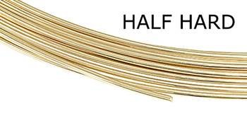 Gold Filled Round Wire (Sold By Grams)