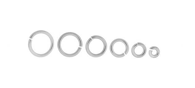 14K Open Jumpring 0.90mm Thick (19GA Gauge Wire)