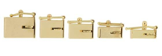 10k Gold Box Clasps Bella Findings House