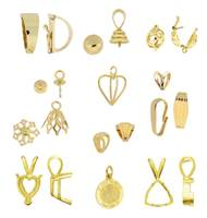 14k Pendants And Pendant Findings