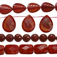 Agate Bead (Red Agate)