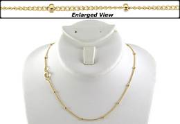 GOLD FILLED 18 INCHES READY TO WEAR CHAIN
