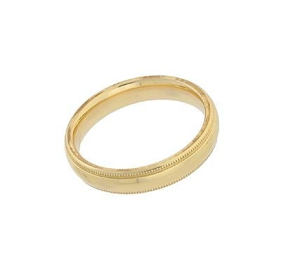 14KY 4MM RING SIZE 5
