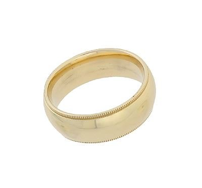 14KY 7MM RING SIZE 8