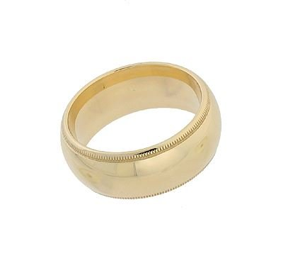 14KY 8MM RING SIZE 5