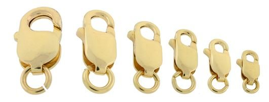 14KY 18.3MM LOBSTER CLASP