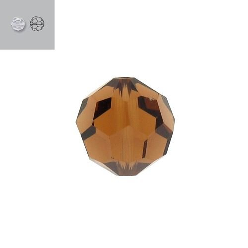 3MM SMOKED TOPAZ 5000 SWAROVSKI BEAD SOLD BY PACK