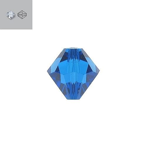 8MM CAPRI BLUE 5328 SWAROVSKI BEAD SOLD BY PACK