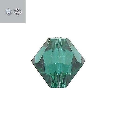 3MM EMERALD 5328 SWAROVSKI BEAD SOLD BY PACK