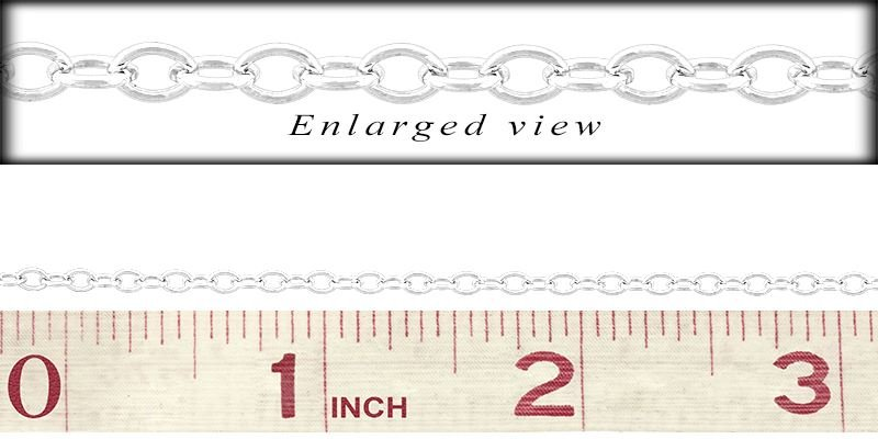 SS Oval Cable Chain