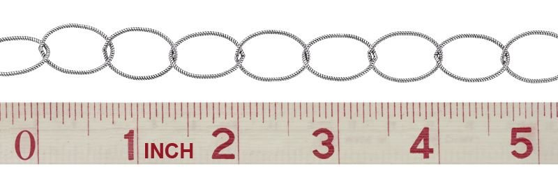 SS Twisted Oval Cable Chain