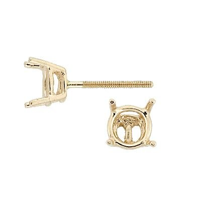 14KY 2MM 5PTS EARRING