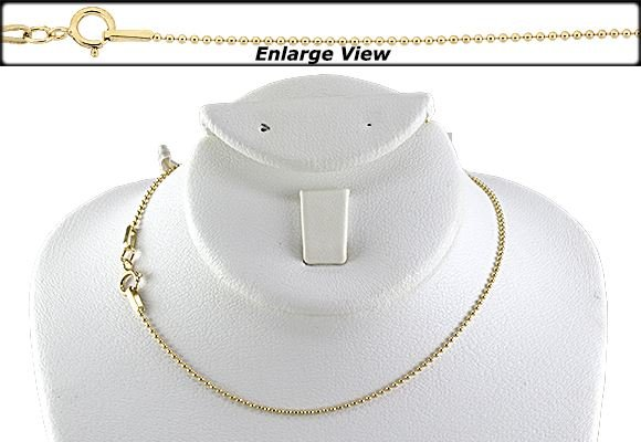 GOLD FILLED 20 INCHES READY TO WEAR CHAIN