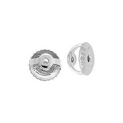 Platinum 6.3X0.84mm Hole Earring Screw Earnut Type-A