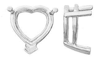 14KW 2mm V-End Wire Heart Basket